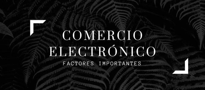 Factores de Comercio Electrónico